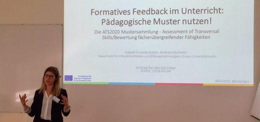 Pädagogische Muster für formatives Feedback