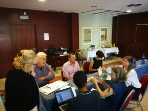 Discussing skills & competences of mentors