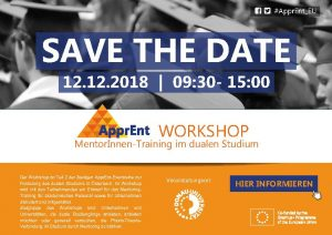 ApprEnt Workshop