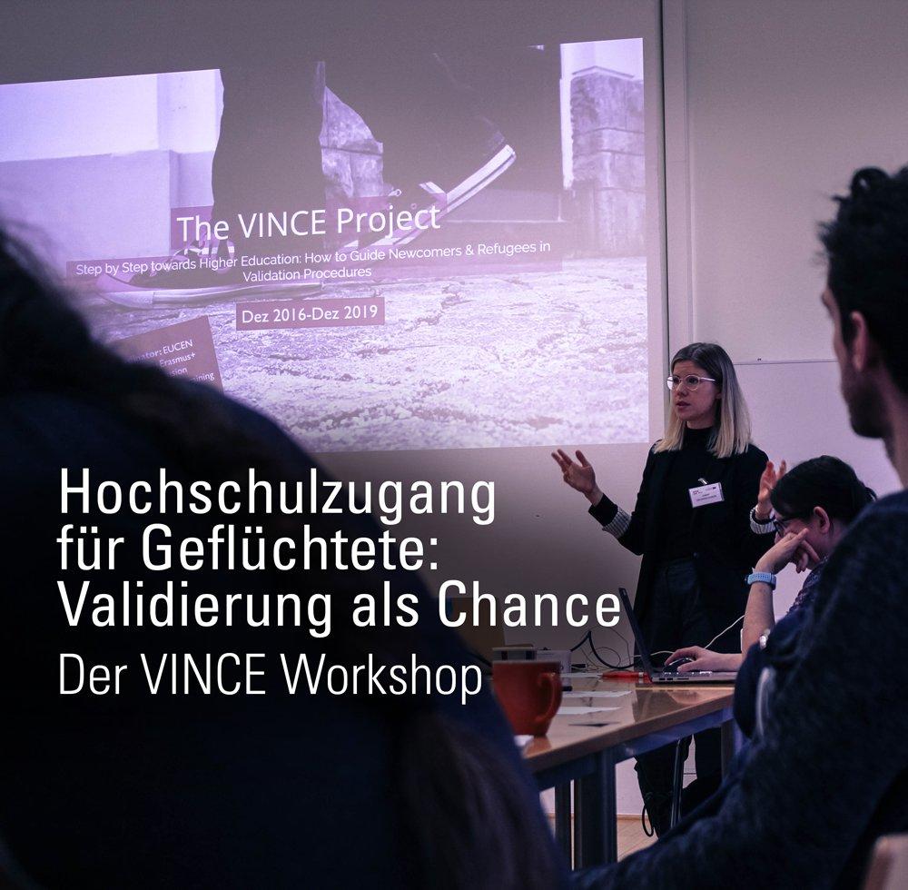 VINCE Workshop zu Hochschulzugang