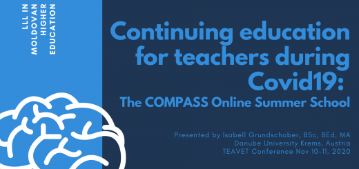 Continuing education for teachers during Covid19