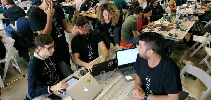This picture is licensed under the Creative Commons Attribution-Share Alike 4.0 International license, uploaded by ProfNews on 28 March 2019, retrieved on 1 January 2021 on https://commons.wikimedia.org/wiki/File:Technion_Hackathon.jpg